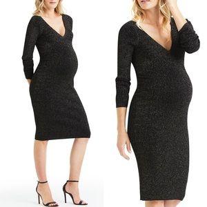 NWT Maternity-Friendly A.L.C. Metallic Dress ALC